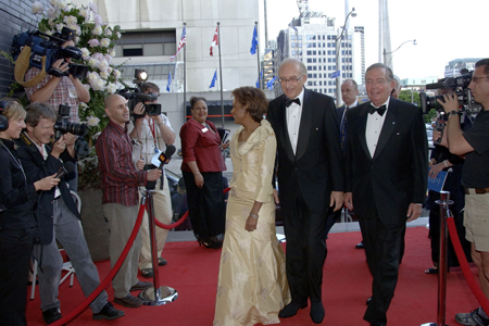 The Governor General and His Excellency Mr. Jean-Daniel Lafond attended the Inaugural Concert Gala for the opening of the Four Seasons Centre for the Performing Arts on June 14, 2006 in Toronto, a centre specifically built in Canada to house the Canadian Opera Company and The National Ballet of Canada.