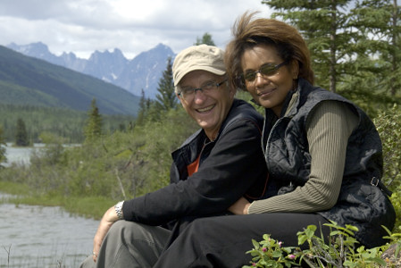 The Governor General and His Excellency Jean-Daniel Lafond participated in an excursion to Nahanni National Park Reserve of Canada on June 22, 2006.  The day-long excursion to the UNESCO World Heritage site allowed Their Excellencies to learn more about the proposed expansion of the park and other related issues.  The excursion was part of the Governor General's five-day visit to the Northwest Territories.  The five-day visit began in Yellowknife with a stop in Fort Simpson and in the National Park.  Meeting with the Aboriginal community, youth and women was at the core of the Governor General's visit to the Northwest Territories. This was her 9th territorial or provincial visit since the beginning of her mandate.