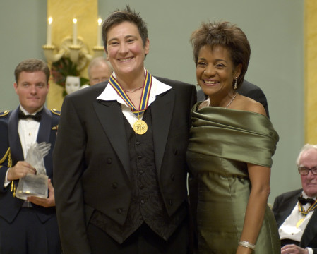 <p>Her Excellency the Right Honourable Michaëlle Jean, Governor General of Canada, honoured recipients of the Governor General's Performing Arts Awards during a special ceremony held at Rideau Hall on Friday, November 4, 2005.</p>