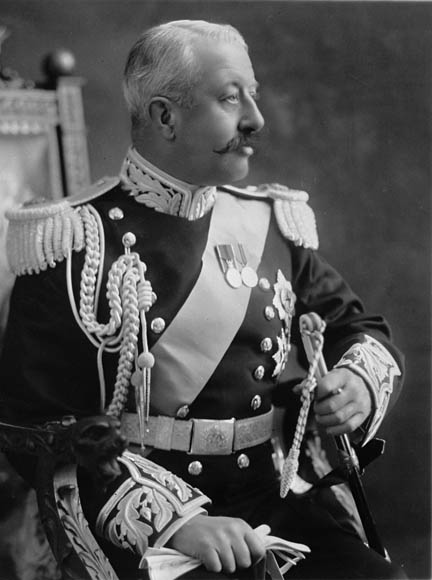 The Duke of Devonshire, Governor General of Canada from 1916 to 1921. Date: circa 1916.   Photographer: Dupras & Colas. Reference: Library and Archives Canada, C-001013.