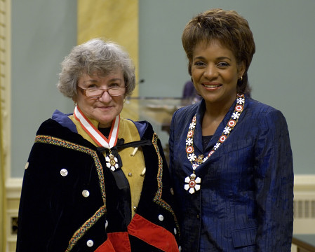<p>The Governor General of Canada presided at an Order of Canada investiture ceremony at Rideau Hall on Friday, October 6, 2006. </p>