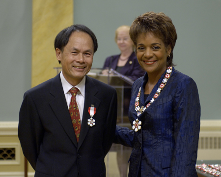 <p>The Governor General of Canada presided at an Order of Canada investiture ceremony at Rideau Hall on Friday, October 6, 2006.</p>