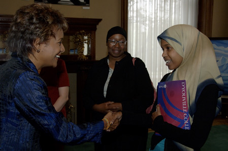 Discussion with women from the Muslim Community of Toronto