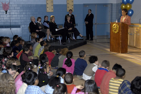 Governor General  attends 50th anniversary celebrations at Queen Elizabeth Public School in Ottawa