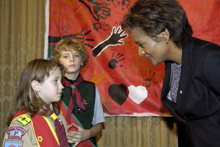 Governor General  delivers  remarks at the 10th anniversary celebration of the National Alliance for Children and Youth  on  November 14, 2006, in Ottawa