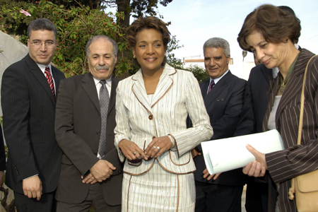 The Governor General visits the Casbah (Algiers)