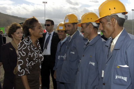 Visit of SNC-Lavalin Electric Plant Hadjret Ennouss (Cherchell)