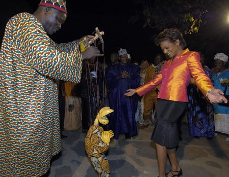 Cultural evening hosted by the Ambassador of Canada (Bamako)