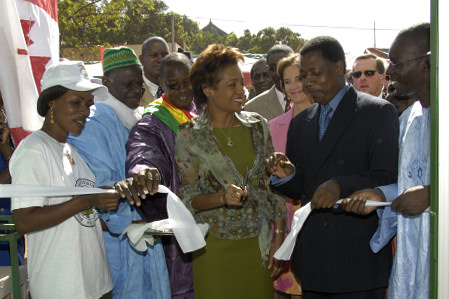 Official Opening of the Consolidated Credit Union (Magnambougou)