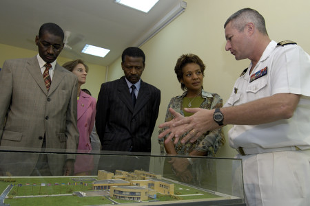 Visit of the Peacekeeping School (Bamako)