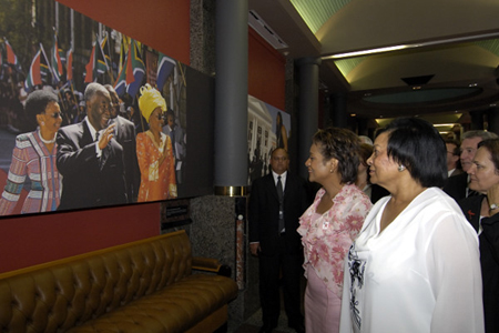 Tour of Parliamentary Precinct with Peggy M. Hollander, Deputy Chairperson of the National Council of Provinces (Cape Town)