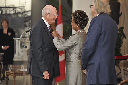 The Governor General of Canada > Photos > Governor General invested