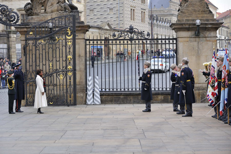Welcoming Ceremony with Military Honours in the Czech Republic.