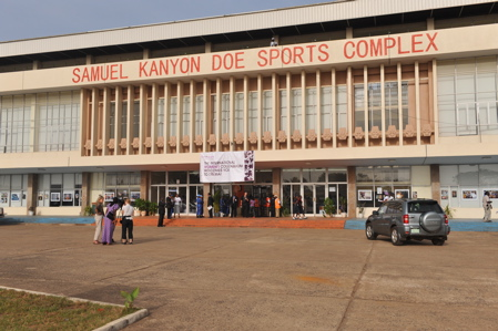 The International Colloquium on Women's Empowerment, Leadership Development, International Peace and security was held at the Samuel Kanyon Doe Sports Complex in Monrovia, Liberia, on March 7 and 8, 2009.