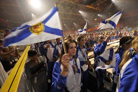 Nova Scotia has more than 300 athletes competing in 18 sports during the 2009 Canada Summer Games. The province will host the next Canada Winter Games, in 2011.