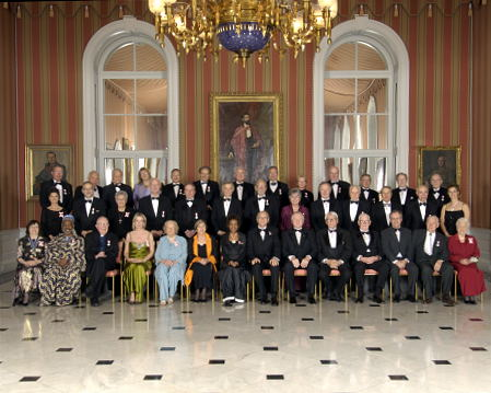 Her Excellency the Right Honourable Michaëlle Jean, Governor General of Canada, presided at the first investiture ceremony of the Order of Canada of her mandate at Rideau Hall on Friday, November 18, 2005.
