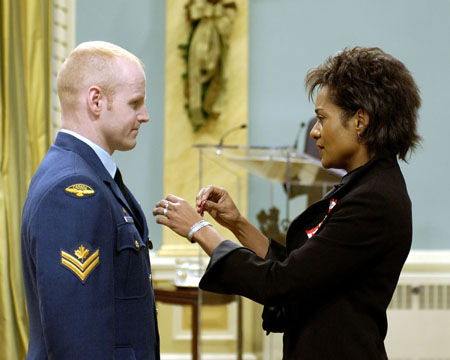 Her Excellency the Right Honourable Michaëlle Jean, Governor General of Canada, will preside over a presentation ceremony of the Decorations for Bravery at Rideau Hall on Friday, December 2, 2005.