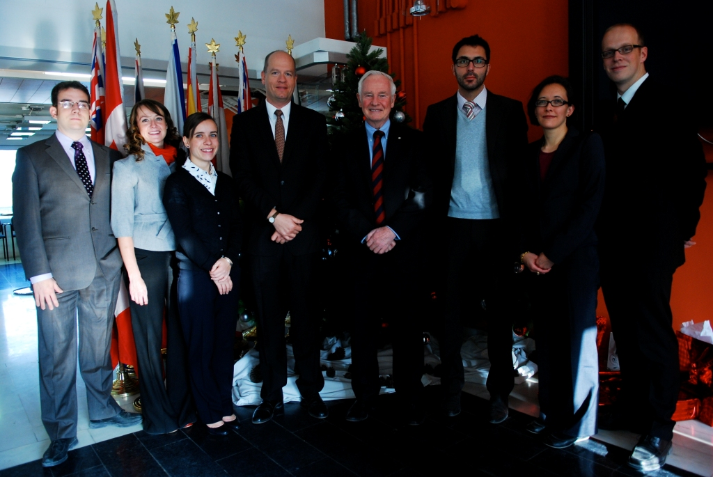 His Excellency also had the opportunity to celebrate Christmas with staff from the Canadian Embassy in Kabul.