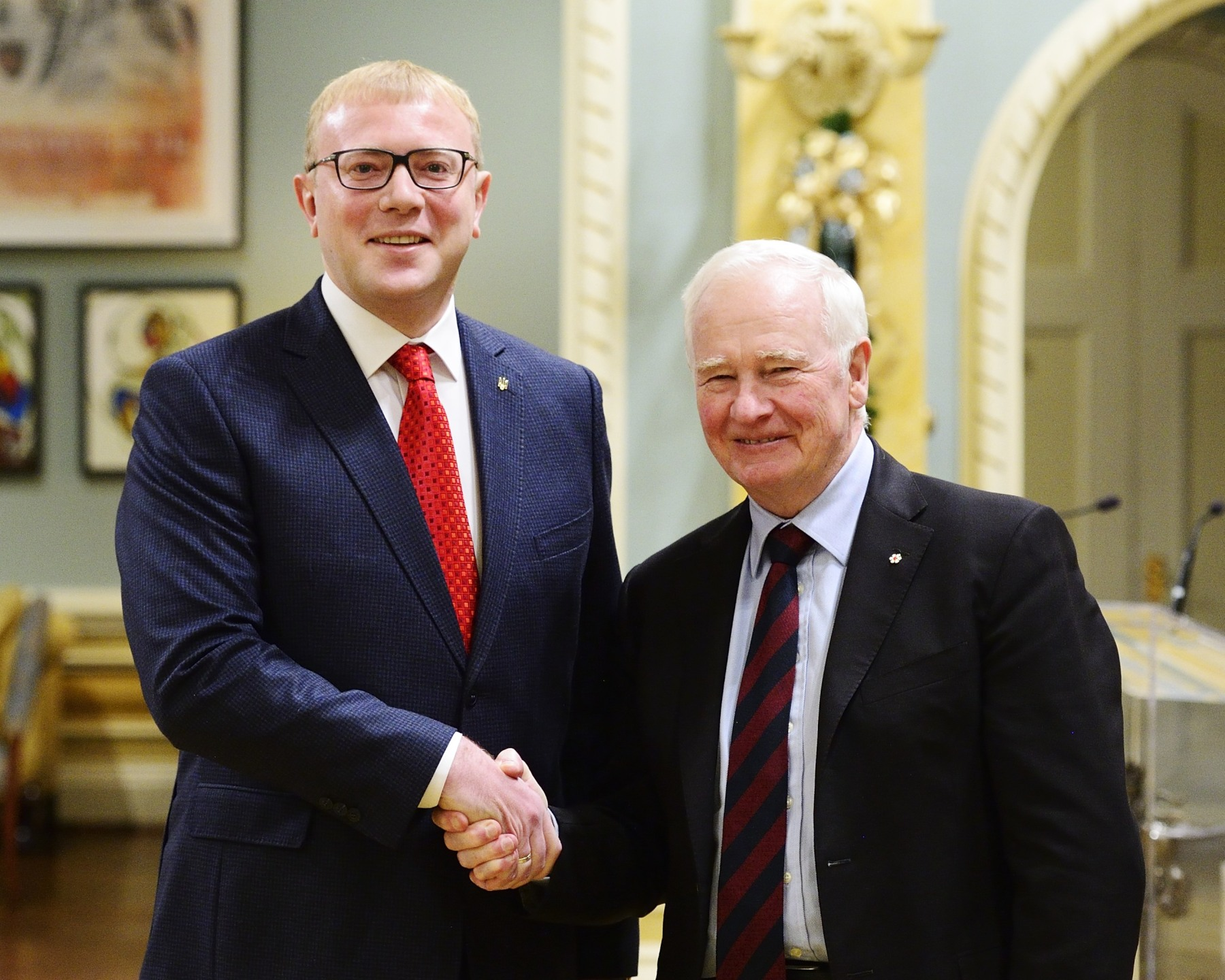 """Ukraine and Canada are close partners and friends, and we continue to offer development assistance on many different levels. We're also looking at ways to increase our growing commercial relations. These are being strengthened through high-level visits between our countries and through the large Ukrainian-Canadian community in Canada,"" said His Excellency."
