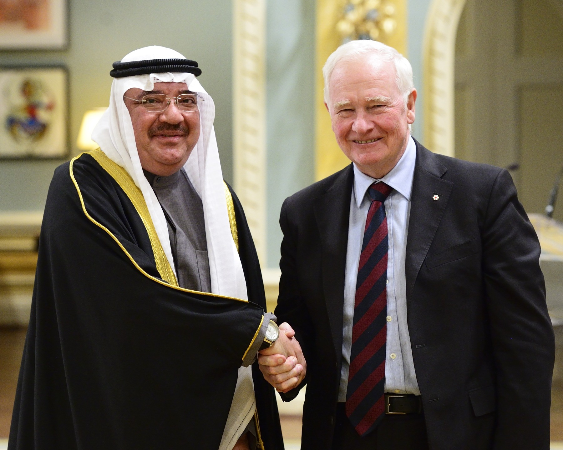 """Kuwait and Canada are marking 50 years of diplomatic relations in 2015. My very first international visit as governor general was a State visit to Kuwait in February 2011,"" said His Excellency."