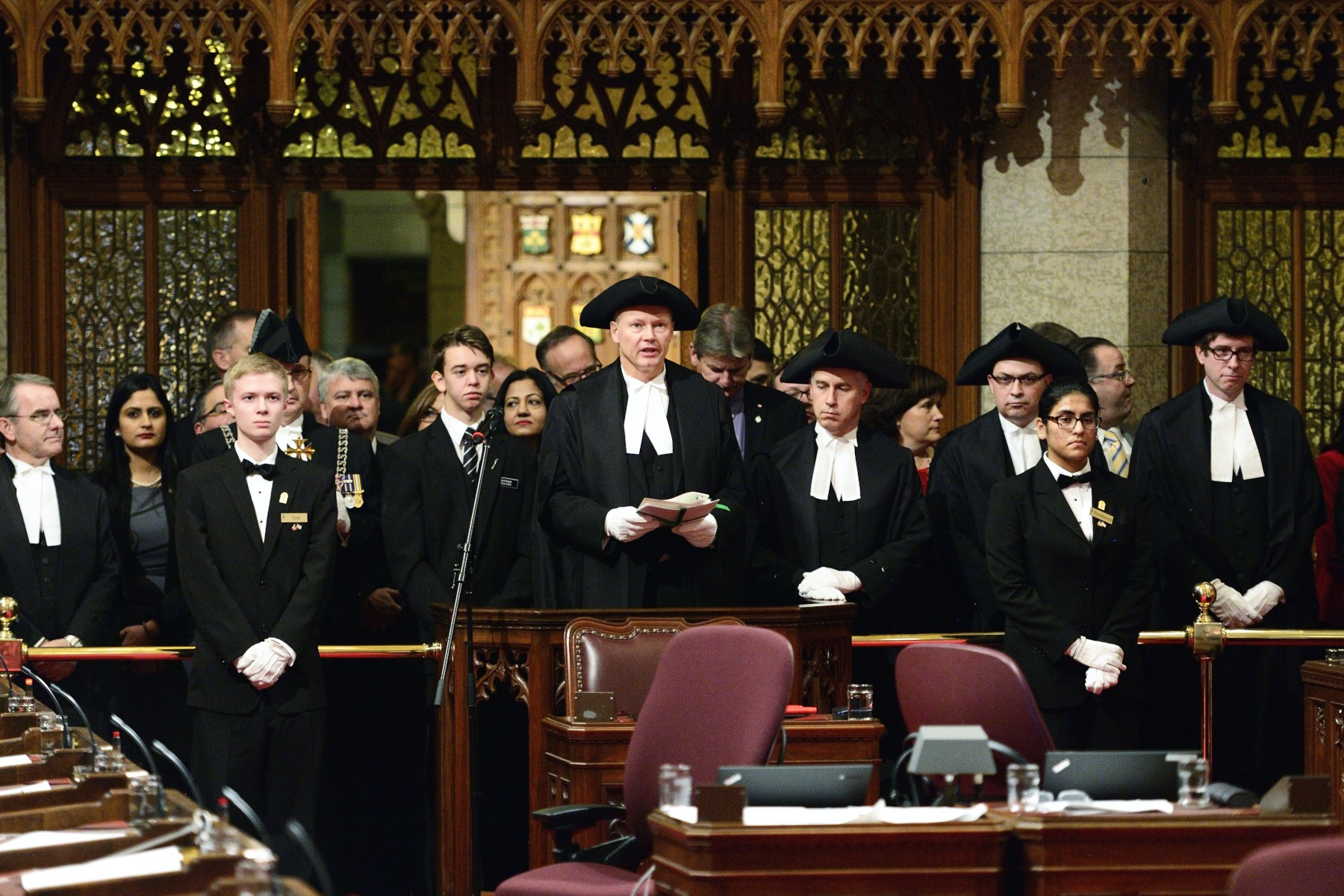 The Honourable Geoff Regan, Speaker of the House of Commons, and members of Parliament attended the ceremony.