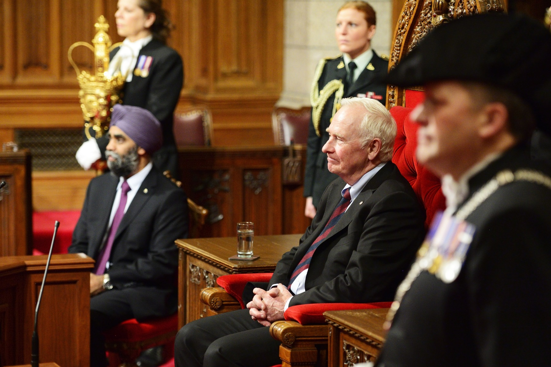 As The Queen's representative in Canada, the Governor General exercises the duties of head of State and one of them is granting royal assent to Parliament bills.