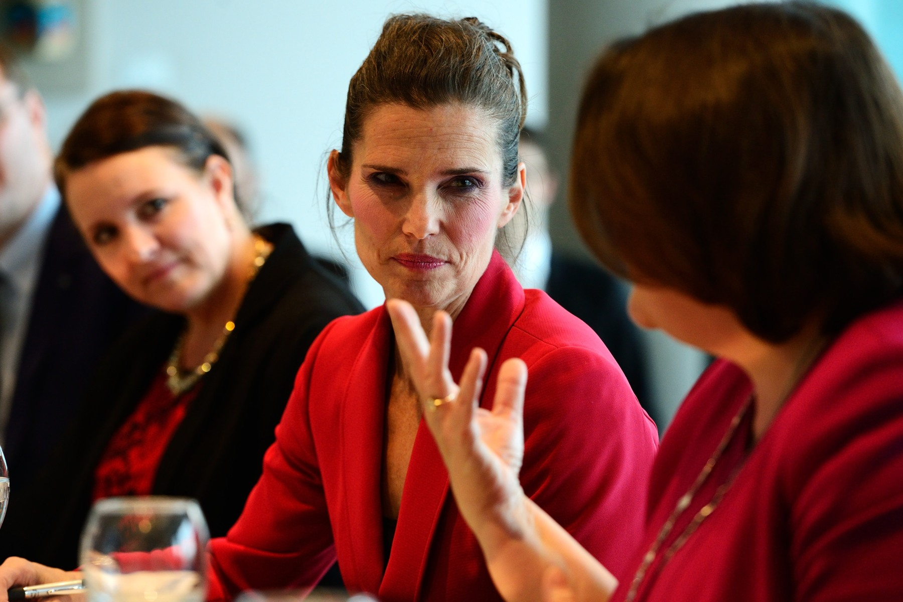 Participating in the round-table was the Honourable Kirsty Duncan, Canada's Minister of Science.
