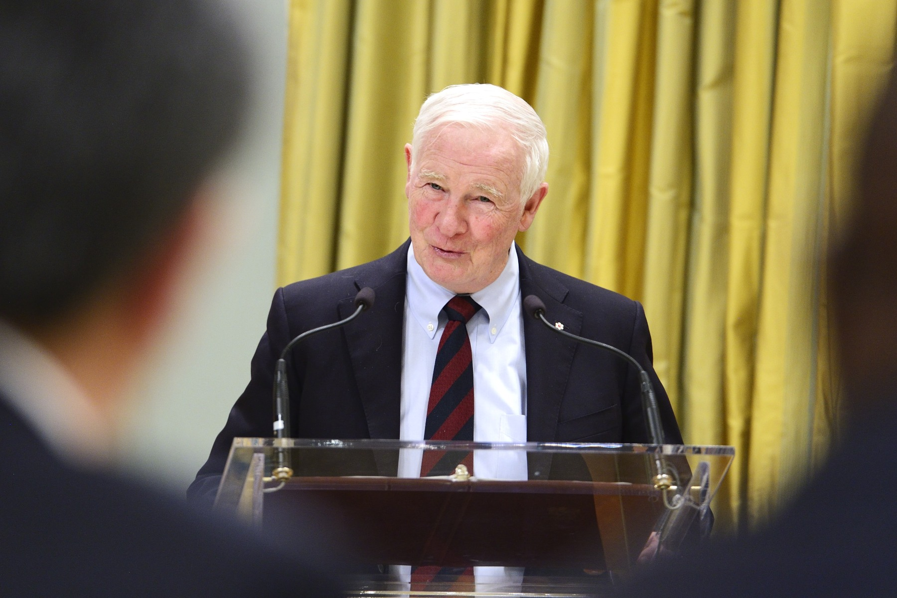 """The diplomatic community in Canada is a unique corps of individuals from countries around the world,"" said His Excellency. ""They share a desire to engage with Canada on a variety of topics. And though we may not always see eye to eye on every issue, we always find a way to work together for the benefit of all our peoples. I'm pleased all of you will be joining this corps today."""