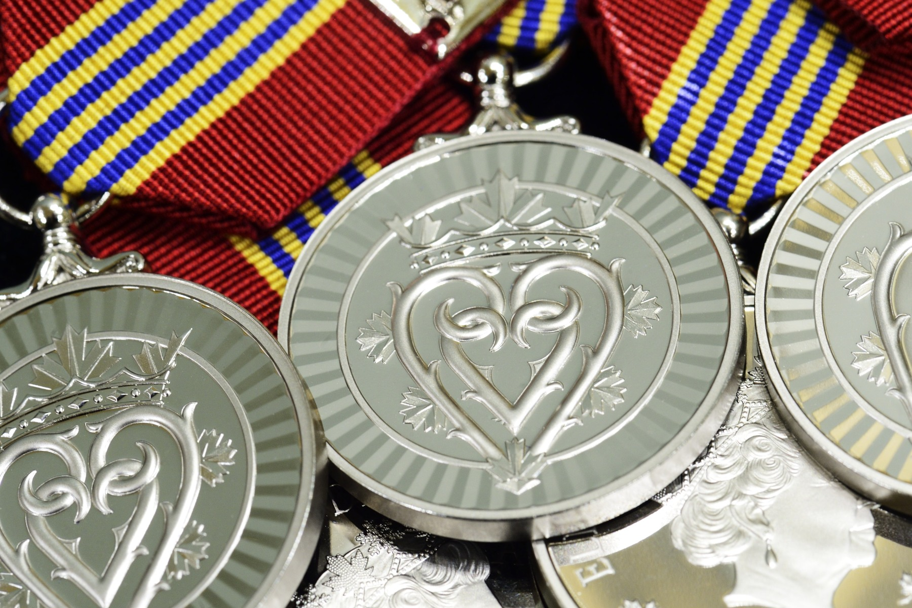 The Governor General presided over the inaugural presentation ceremony of the Sovereign's Medal for Volunteers at Rideau Hall. The new medal was presented to 55 Canadians to recognize exceptional volunteer achievements in a wide range of fields.