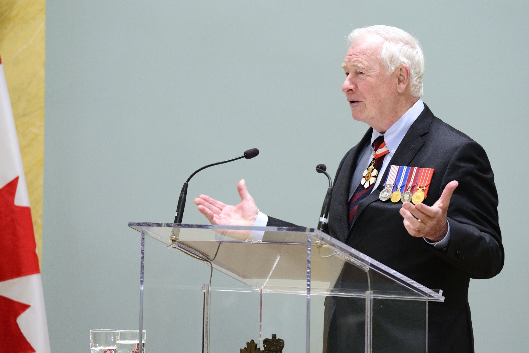 """I'm delighted to recognize some of Canada's most caring individuals with the inaugural presentation of the Sovereign's Medal for Volunteers,"" said the Governor General. ""Each recipient was nominated for the medal from within their community, making this celebration a wonderful reflection of generosity across Canada during National Volunteer Week."""