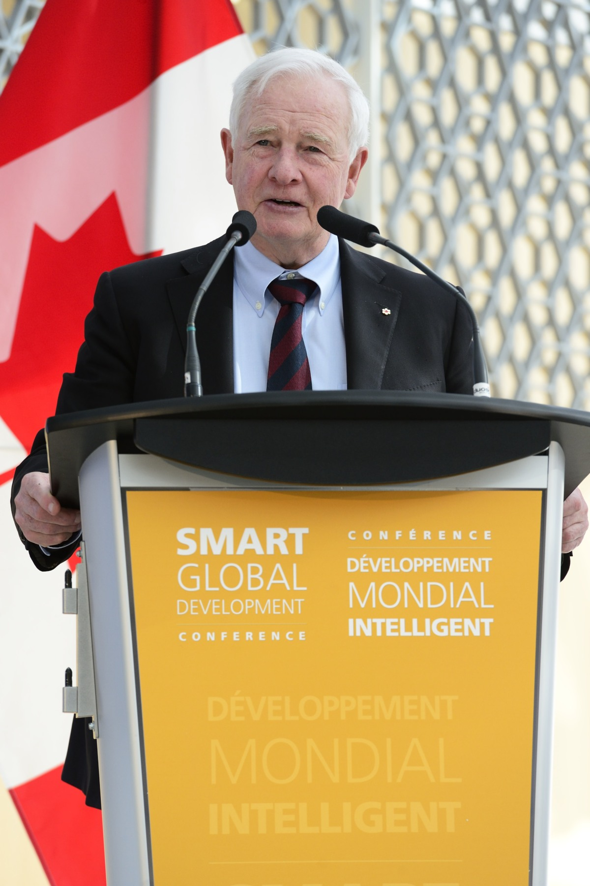 "The Governor General provided they keynote address: ""Universities and institutes of higher education are ideally positioned to contribute to sustainable development, because they're hubs of innovation and creativity!"""