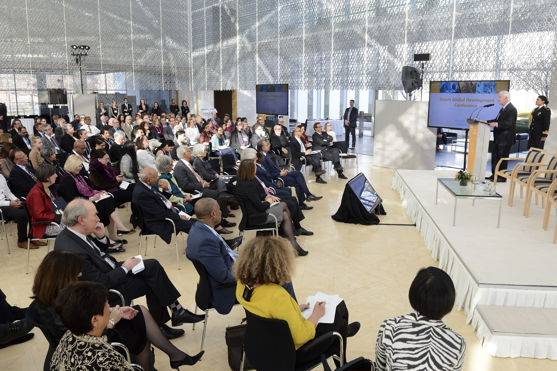 The Smart Global Development conference, convened by Aga Khan Foundation Canada, Academics Without Borders, and the International Development Research Centre, explored the role of higher education in advancing sustainable development goals.