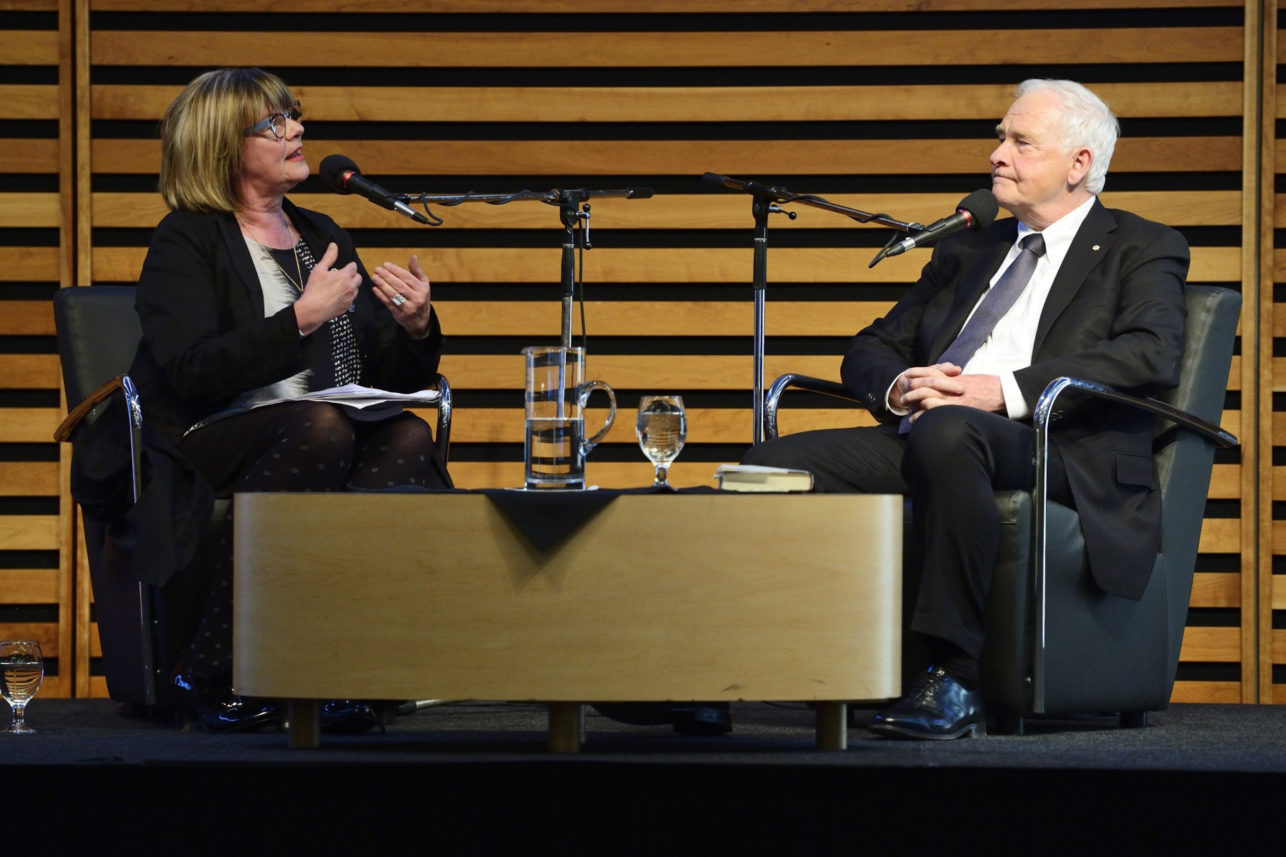 His Excellency took part in an on-stage conversation hosted by CBC Radio's Shelagh Rogers to discuss The Idea of Canada: Letters to a Nation, his book published by Signal/McClelland & Stewart.