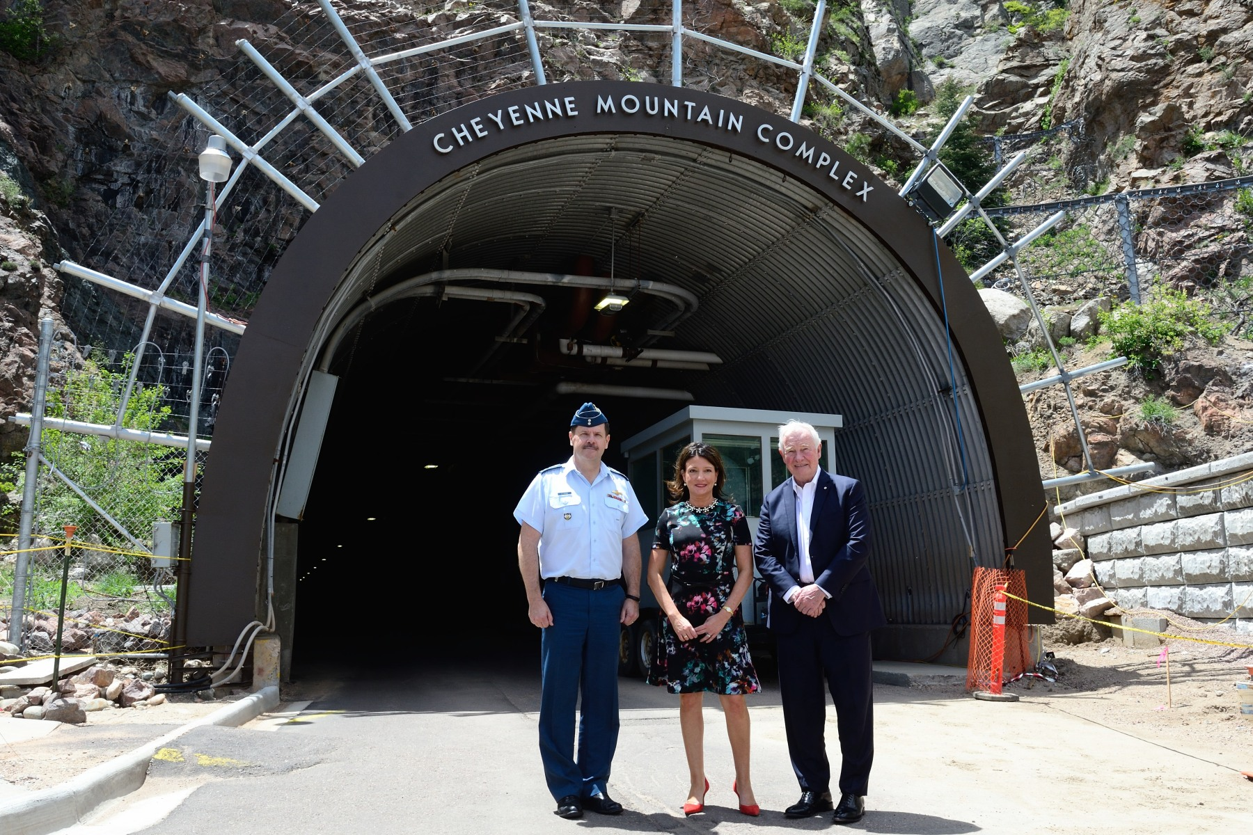 On the eve of Memorial Day, His Excellency visited the Cheyenne Mountain Complex, which serves as NORAD and U.S. Northern Command's Alternate Command Center and as a training site for crew qualification.