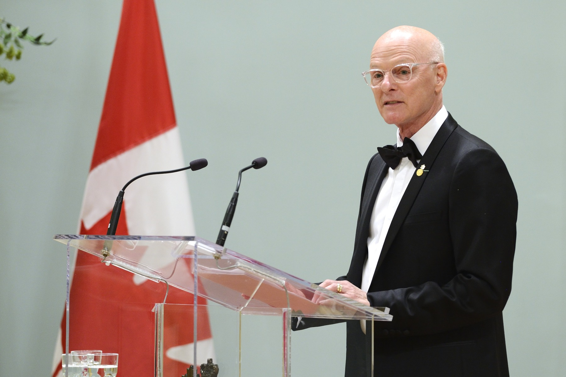 Paul-André Fortier, Co-Chair of the GGPAA Foundation, also delivered remark and co-presented the recipients.