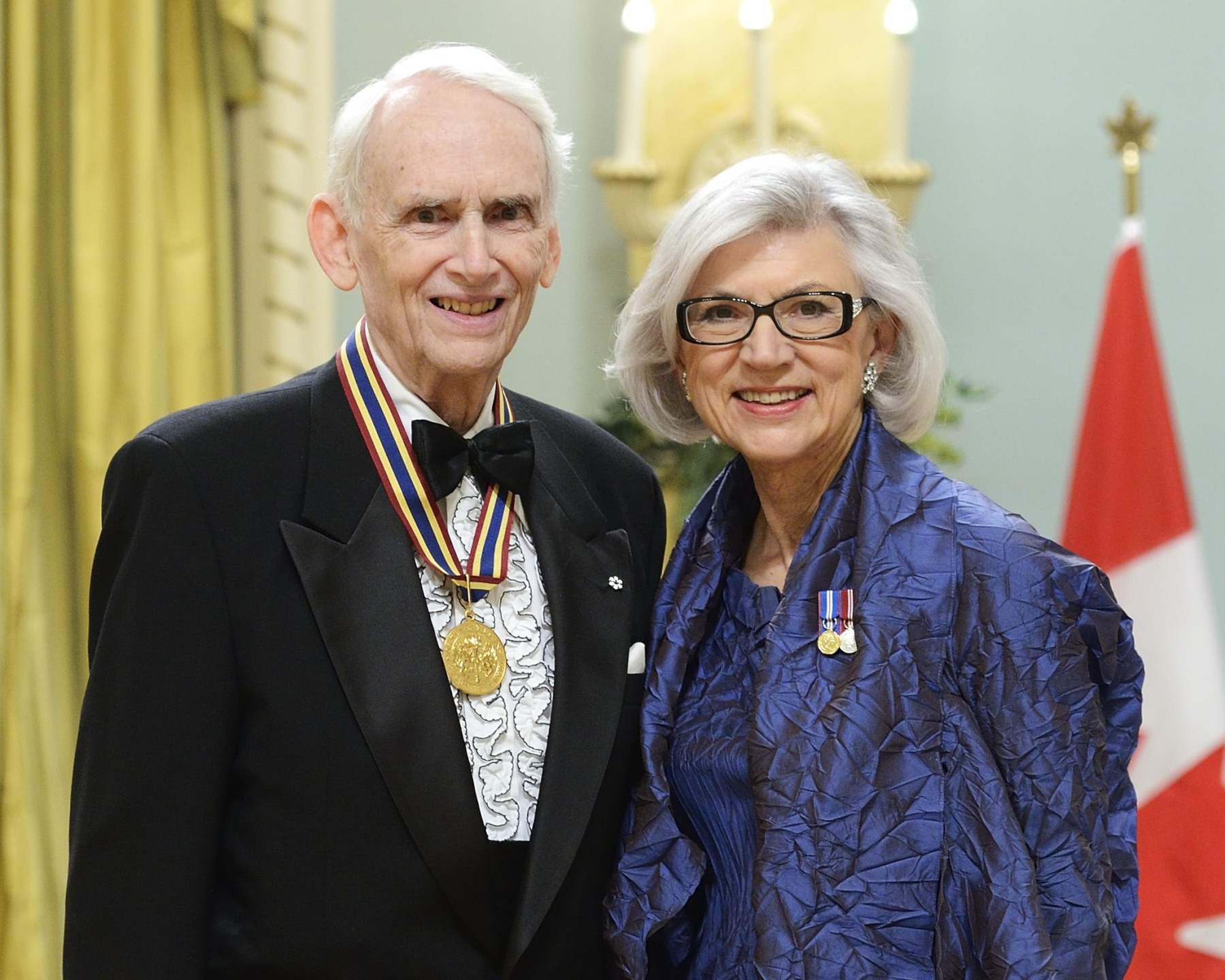 The Ramon John Hnatyshyn Award for Voluntarism in the Performing Arts Laureate recognizes outstanding contributions by an individual or group in voluntary service to the performing arts in Canada. Recipients of this award are also nominated by the general public. This year's laureate is John D McKellar.