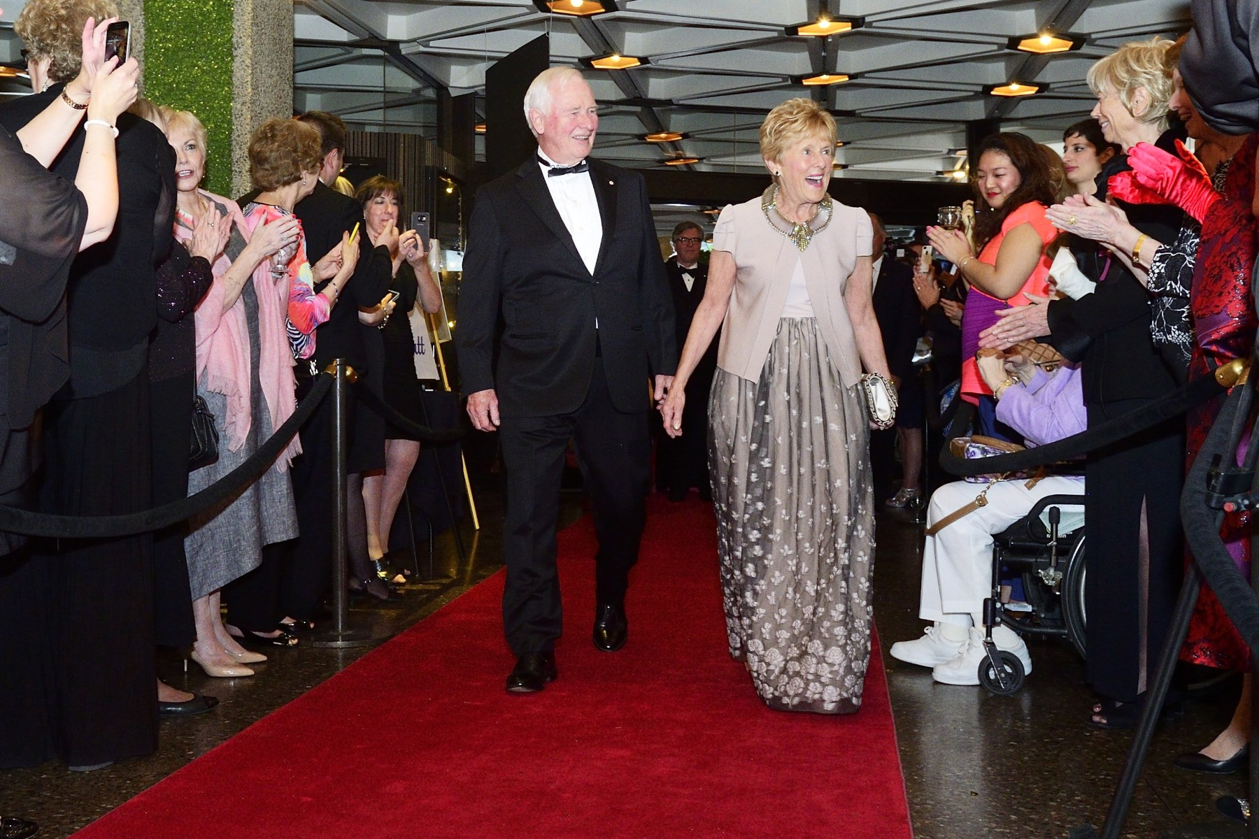 Their Excellencies came back just in time from London, where they participated to Her Majesty The Queen's 90th anniversary celebrations, to attend the Governor General's Performing Arts Awards  gala at the National Arts Centre, in Ottawa.