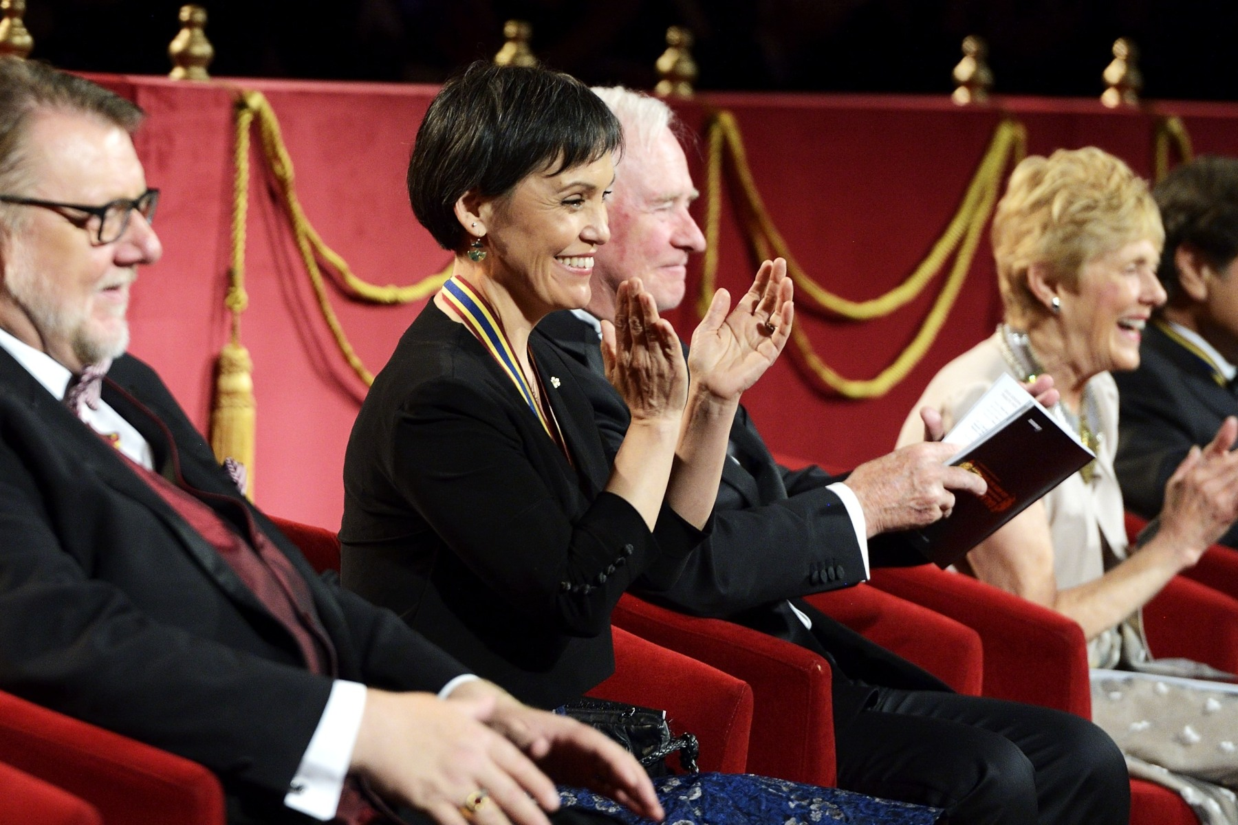 Susan Aglukark, O.C., Singer-songwriter and humanitarian, was honoured by...