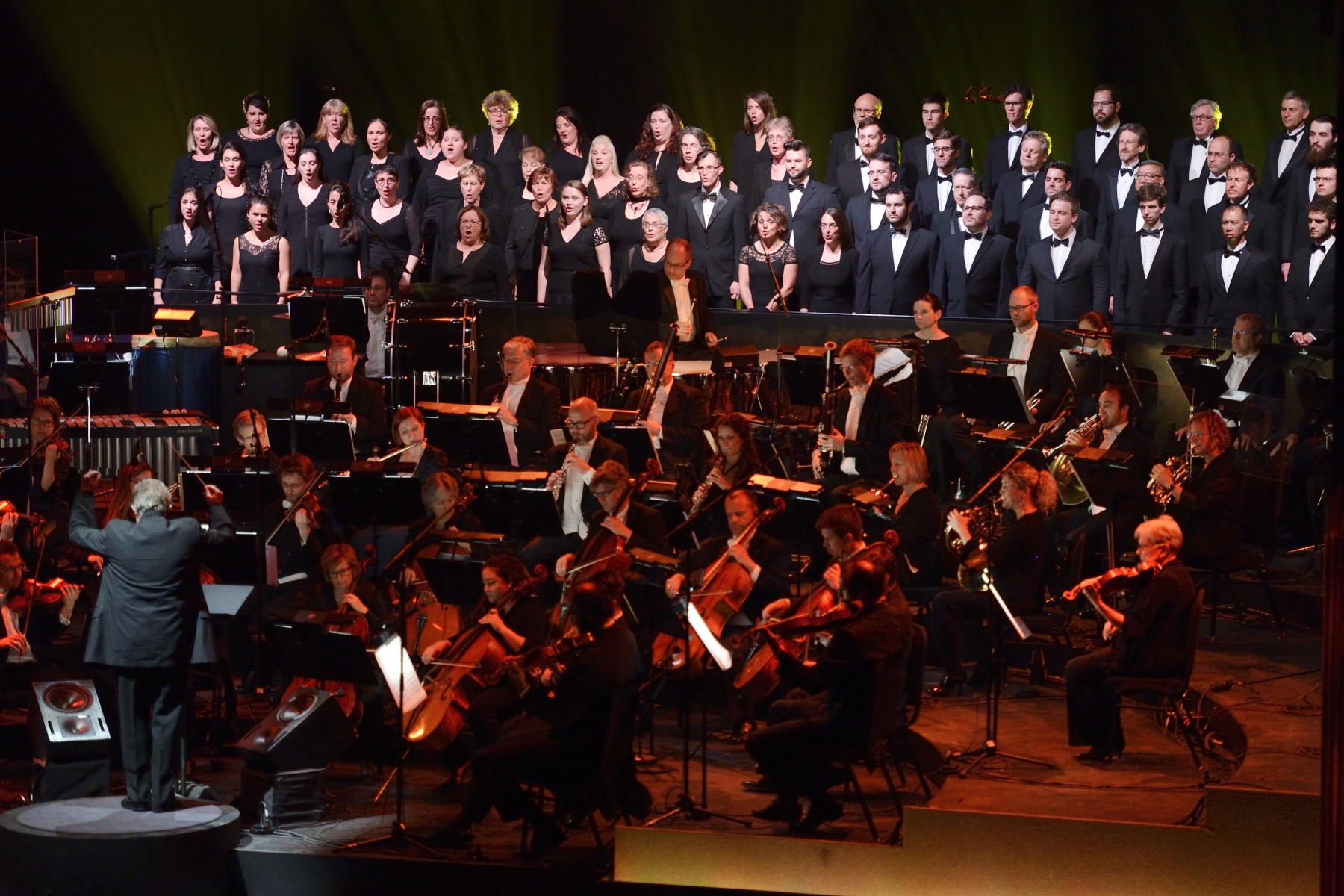Ewashko Singers and the National Arts Centre Orchestra paid a musical tribute.