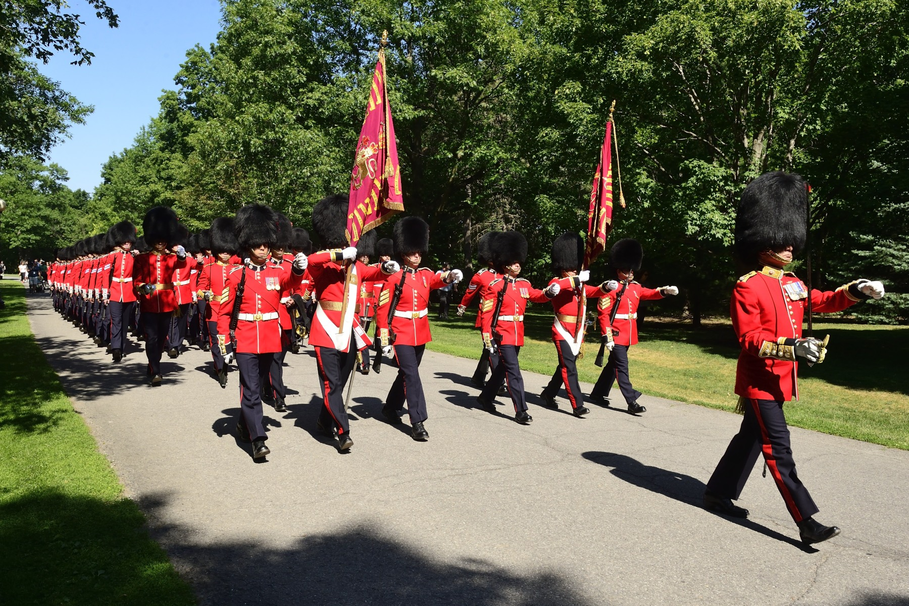 His Excellency the Right Honourable David Johnston, Governor General and Commander-in-Chief of Canada, invited the public to join him for the annual Inspection of the Ceremonial Guard on the grounds of Rideau Hall on June 25.