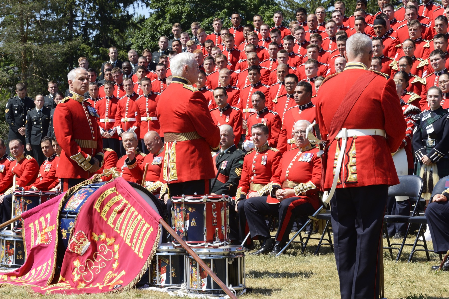 The Ceremonial Guard was established by the Canadian Armed Forces to plan, prepare, and execute Public Duties in the Nation's Capital during the summer.