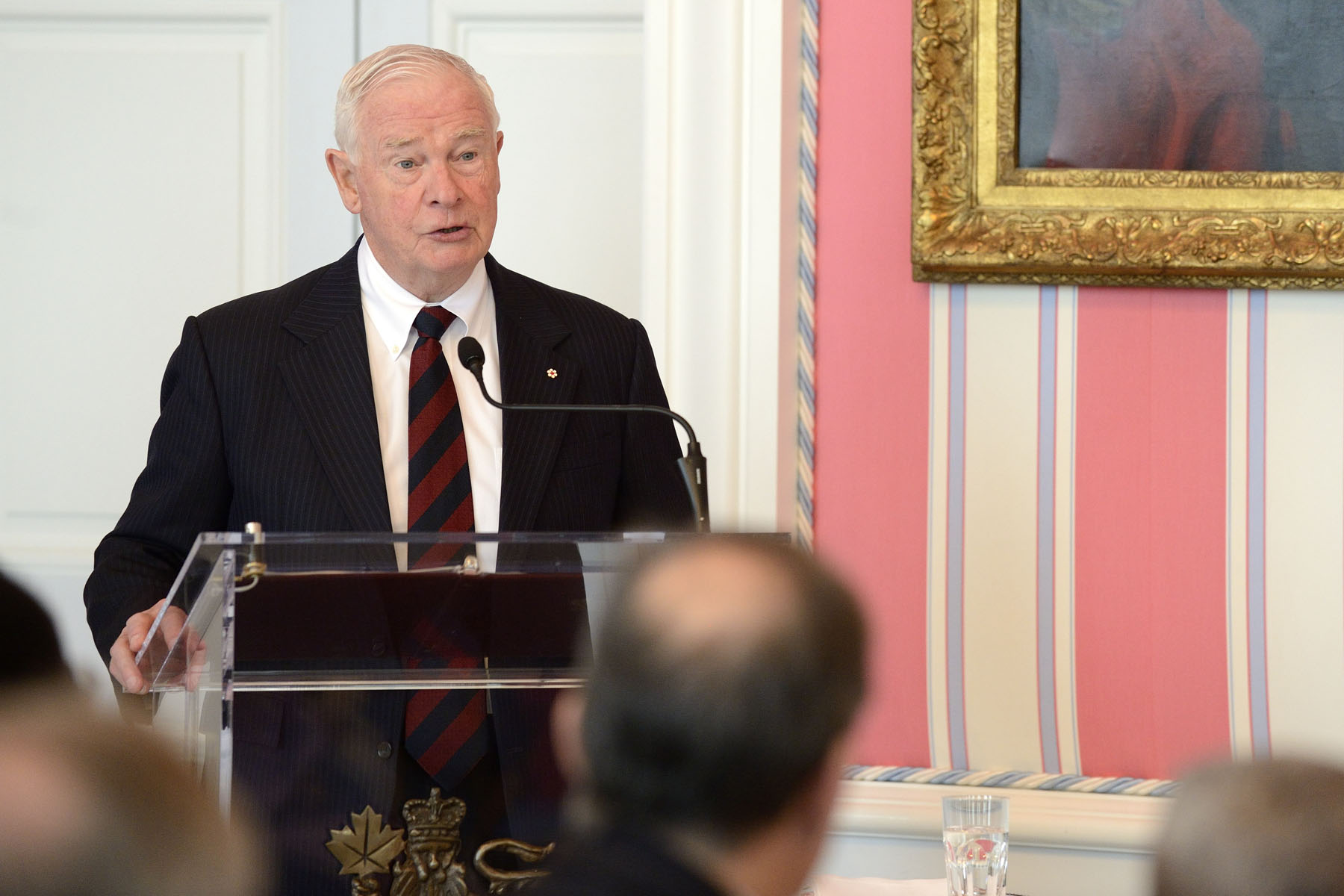"""During your tenures, all of you will contribute to our strong diplomatic community, while at the same time finding ways to bolster our ties,"" said the Governor General."