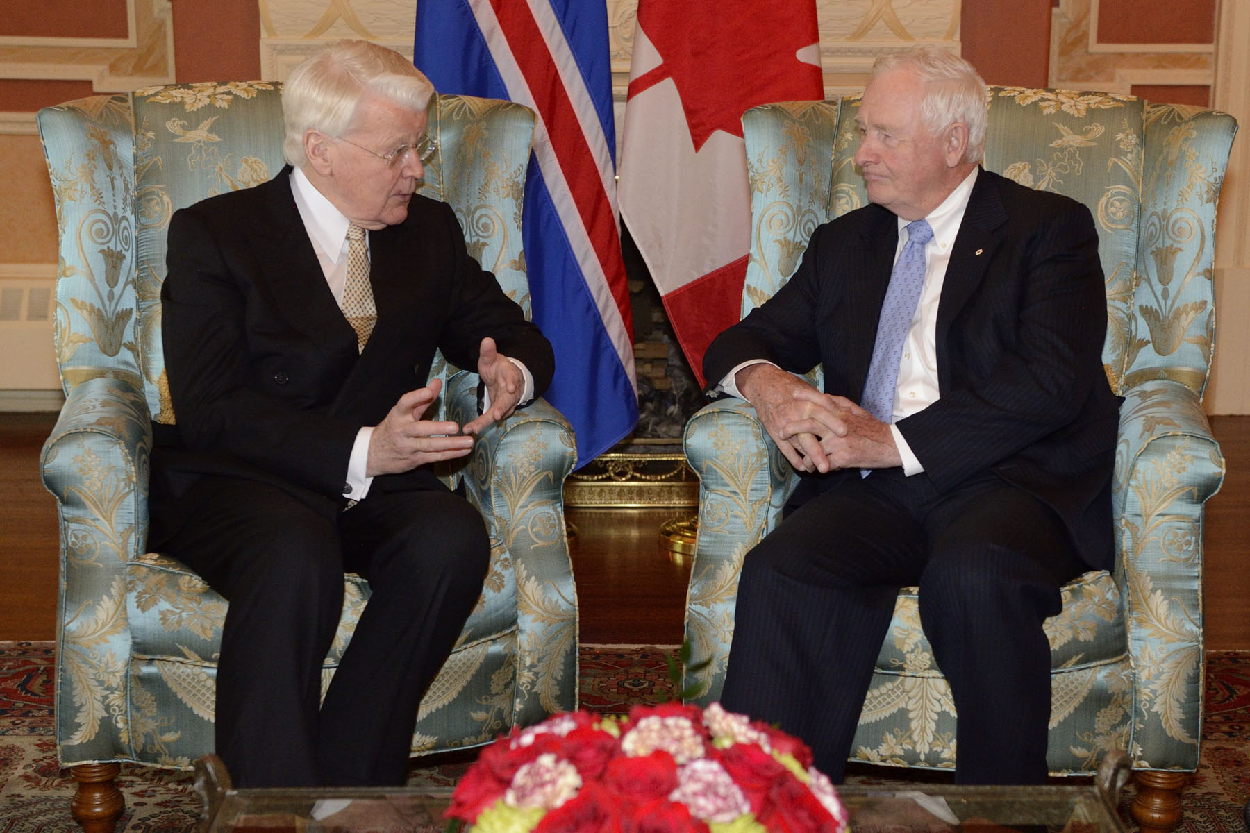 The Governor General and the President of Iceland discussed Canada and Iceland's mutual interests.