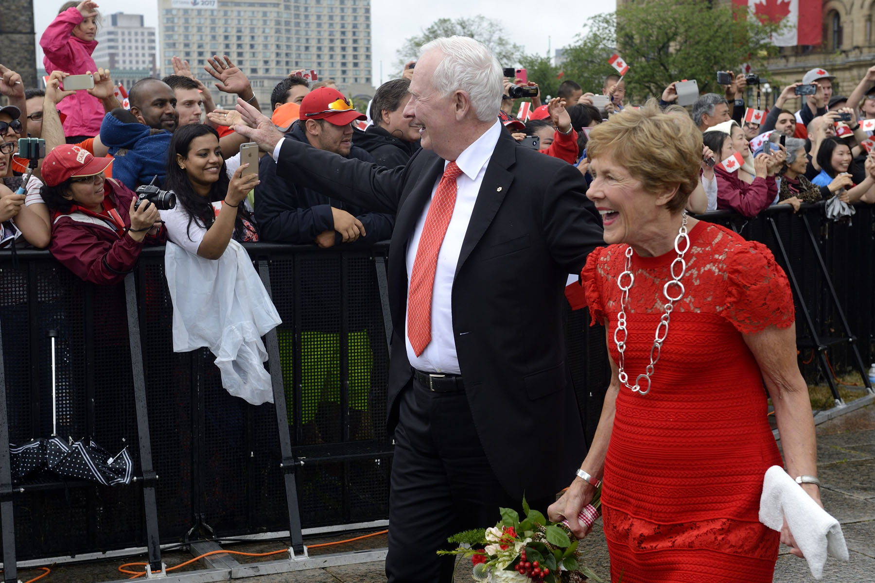 Their Excellencies attended the Canada Day Noon Show on Parliament Hill.