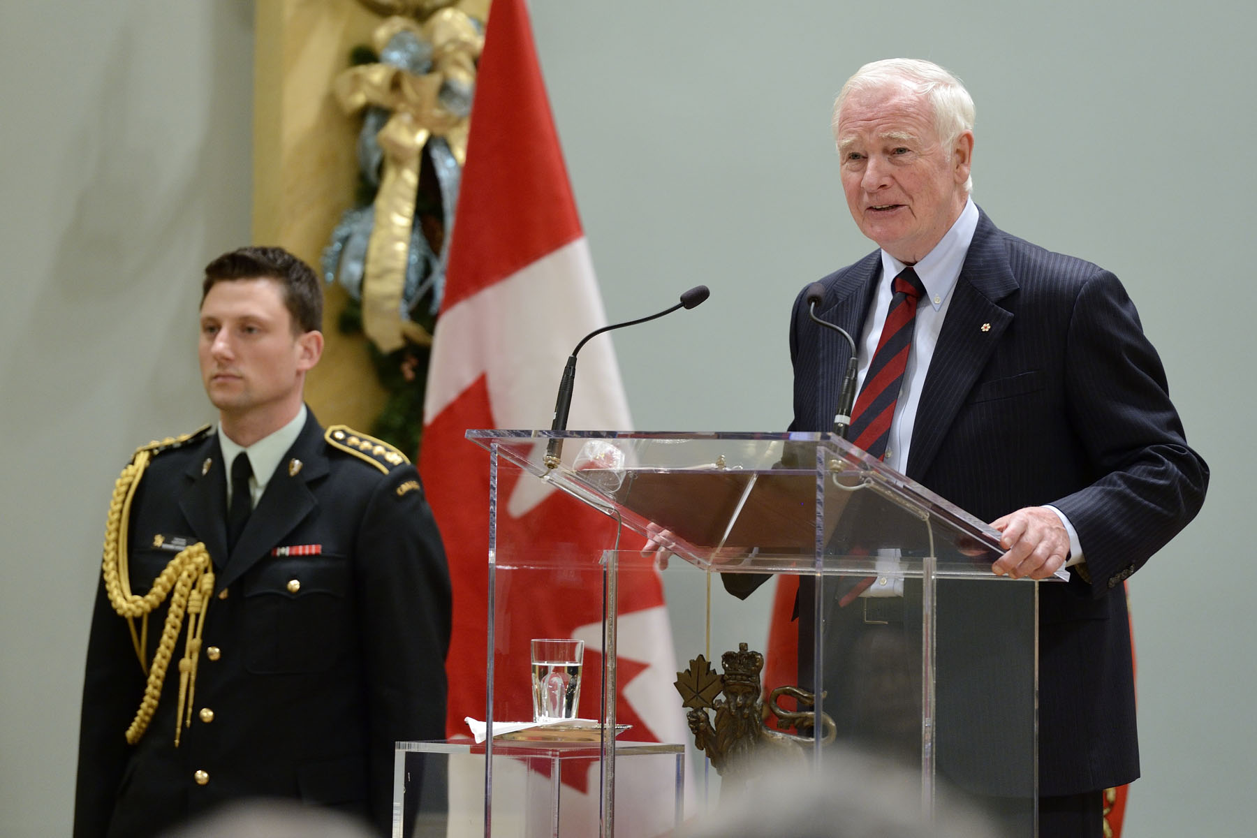 """You will take on the responsibilities of a citizen, and help define what it means to be a Canadian.You will use the wealth of your knowledge, culture and experiences to make this a better country,"" said His Excellency."