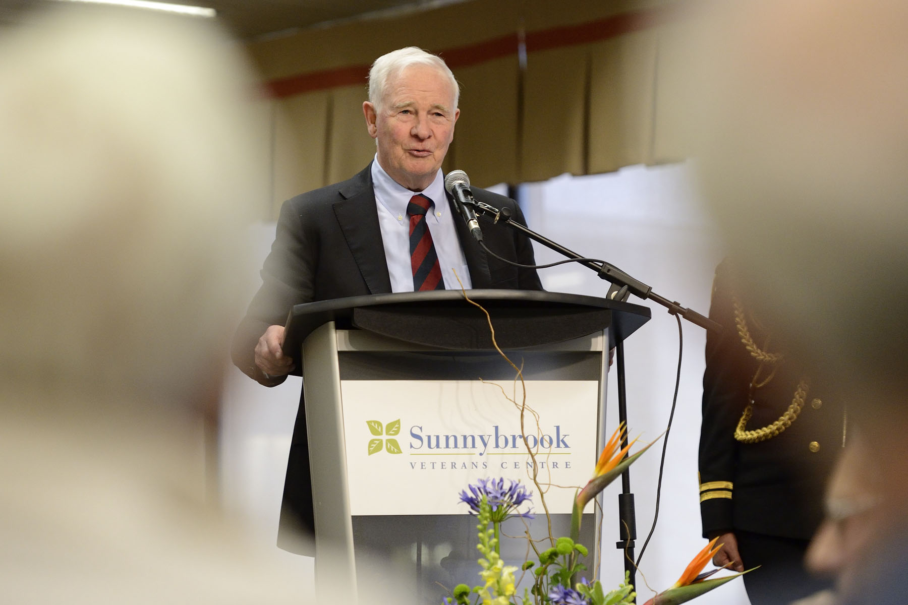 At the Sunnybrook Veterans Centre, His Excellency delivered remarks to thank veterans for their service to our country.