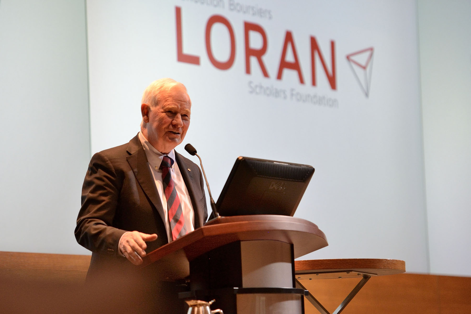 The Governor General delivered the keynote address at the Loran Scholars Foundation's 27th annual dinner.