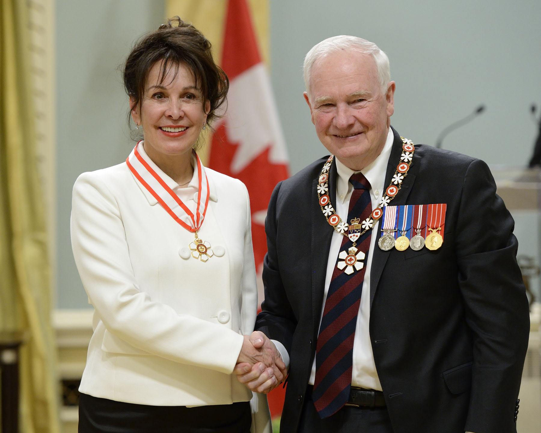 With a forward-thinking approach, the Honourable Louise Otis, O.C., O.Q. (Montréal, Quebec) helped expand the administration of justice in Canada and abroad. A retired justice of the Quebec Court of Appeal, she instituted the first integrated judicial mediation system in Canada, thereby easing and expediting the dispute resolution process. In addition to being a mediator, arbitrator and judge in international courts, she founded such organizations as the Canadian Conference of Judicial Mediation. She is also renowned as an outstanding educator in McGill University's Faculty of Law.