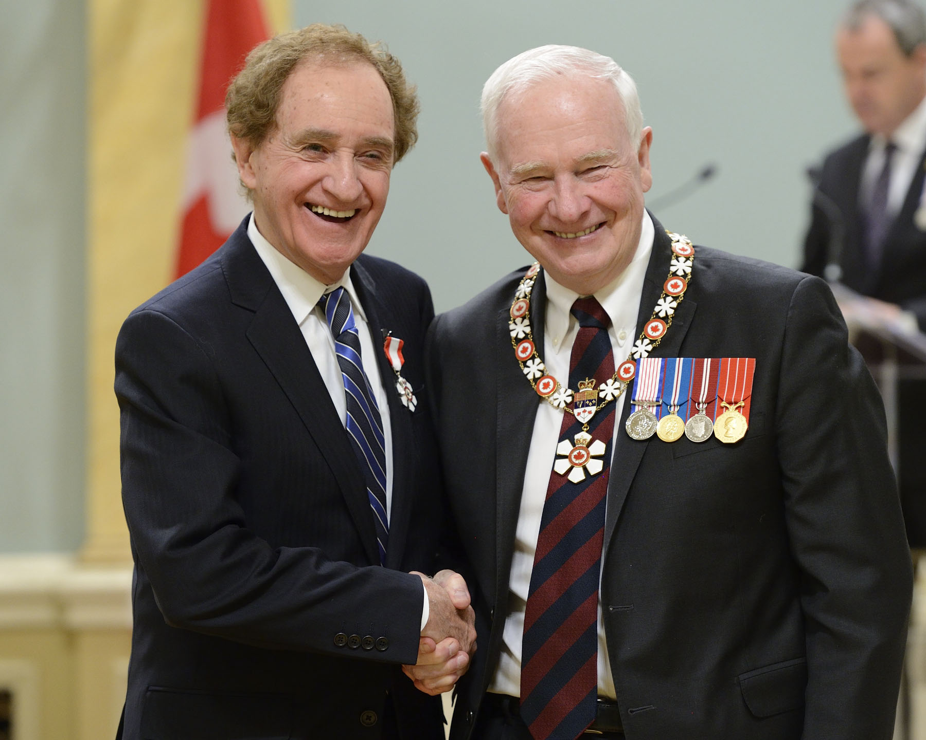James K. Gordon, C.M. (Sudbury, Ontario) has made visionary contributions to the social and economic fabric of his community. As Sudbury's longest-serving mayor, he was instrumental in changing the region's business landscape from a mining town to a more economically diverse area that now includes new sectors such as cancer treatment, retail, science and technology. He continues to champion such causes as access to health care, notably by helping to establish the first medical school in northern Ontario.