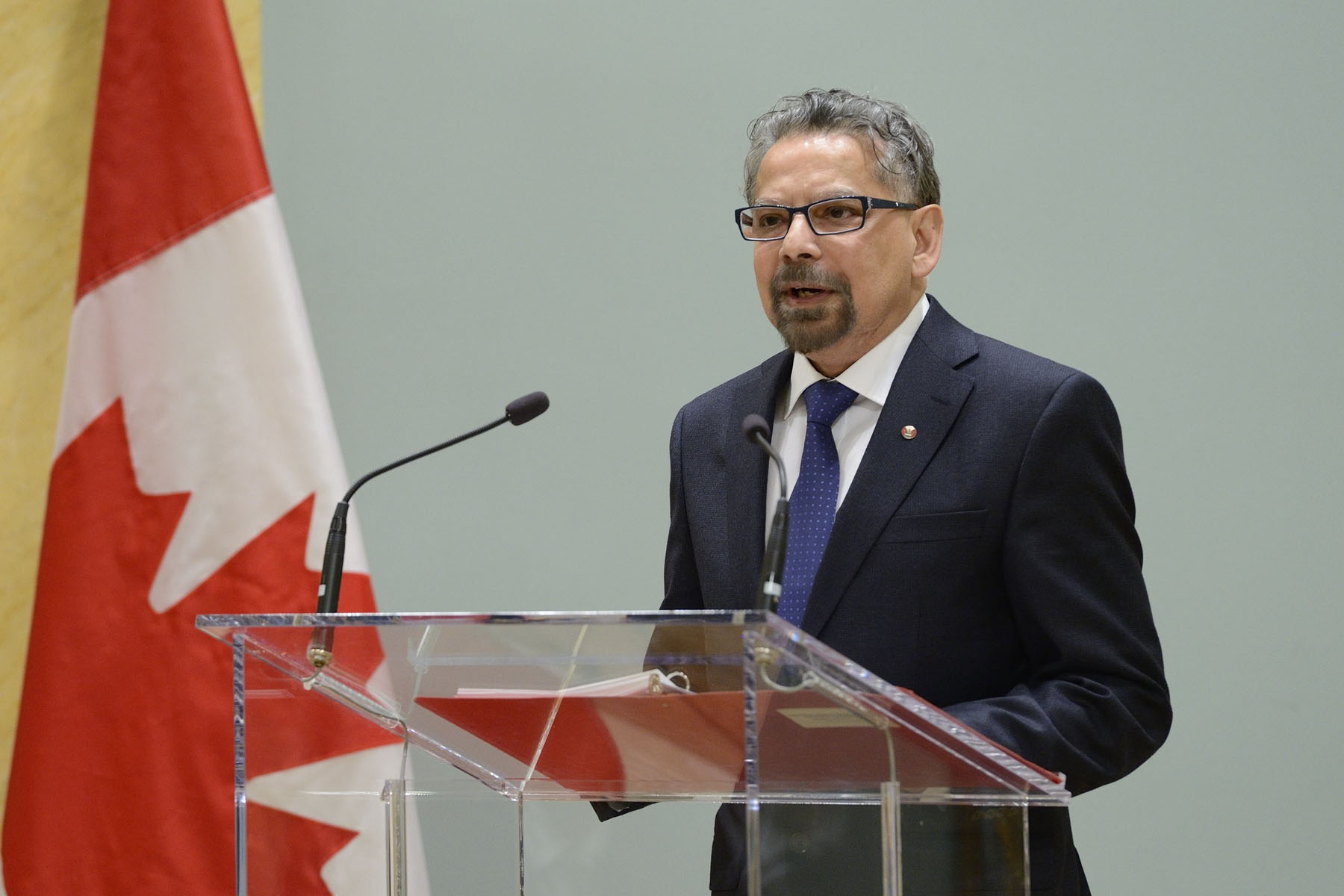 Dr. B. Mario PINTO, President of NSERC delivered remarks and introduced each of the recipients.